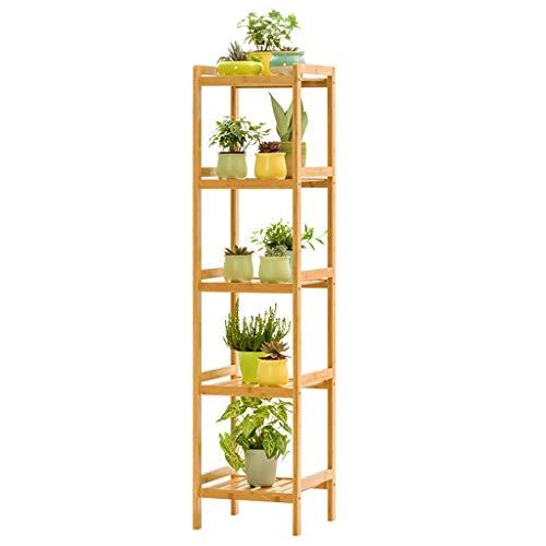 G-HJLXYZWJHOME Bloemenstandaard, meerlagig design, combineerbaar als bloemenrek, presentatieplank, bloempothouder (5 niveaus)