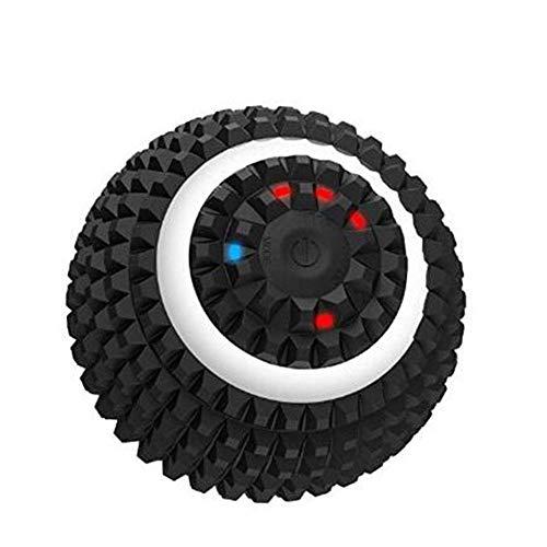 1yess Elektro-Yoga-Kugel Intensität vibrierende Massage-Kugel for Muskel und Fersensporn Schmerzlinderung, Myofascial Freigabe und Triggerpunkt-Behandlung (Color : Black)