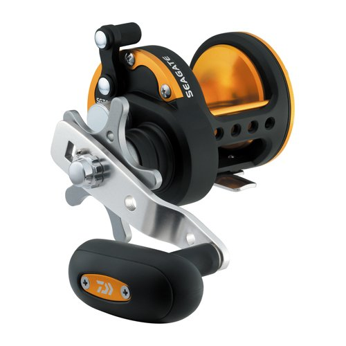 Daiwa SGT35H Seagate Star Drag Saltwater Reel, 35, 6.4: 1 Gear Ratio, 6CRBB, 1RB Bearings, 19.80 lb Max Drag, Right Hand