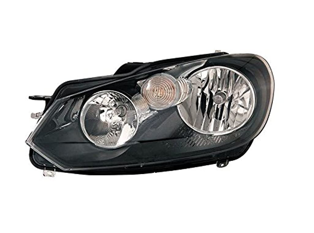 OE Replacement Volkswagen Golf/GTI/GTA Left Composite Headlamp Assembly (Partslink Number VW2502144)