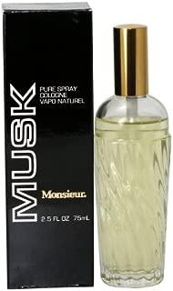 Monsieur Musk By Dana Cologne Spray, 2.0-Ounce