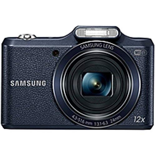 Samsung WB50F 16.2MP Smart WiFi Digital Camera with 4GB Card and Case (White)