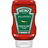 Heinz Jalapeno Tomato Ketchup (14 oz Bottles, Pack of 6)