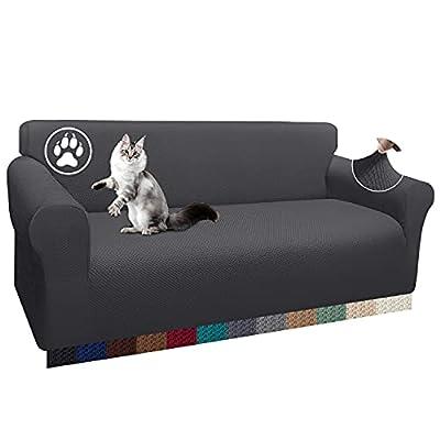 Diseño único: la funda de sofá elástica rediseñada de Luxurlife está estructurada con el hermoso patrón jacquard. En comparación con otras fundas de sofá ordinarias, el grosor de la tela es un 60% mayor y la sensación es más suave y duradera. Estas ...