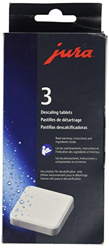 Jura Decalcifying Tablets for All Jura Machines, 36 Count by JURA
