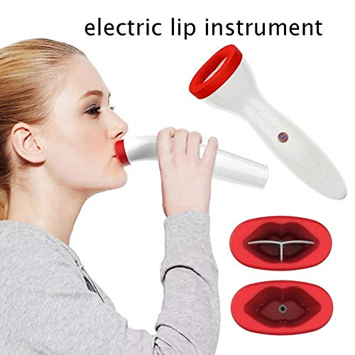 ZJXYYYzj Lip Plumper, Silicone Lip Plumper Lip Plump Appareil électrique Enhancer Outil de Soins naturels Sexy Bigger Fuller Lips Agrandisseur