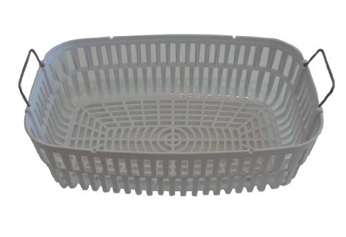 iSonic PB4820A Plastic Basket for Ultrasonic Cleaner P4820, White