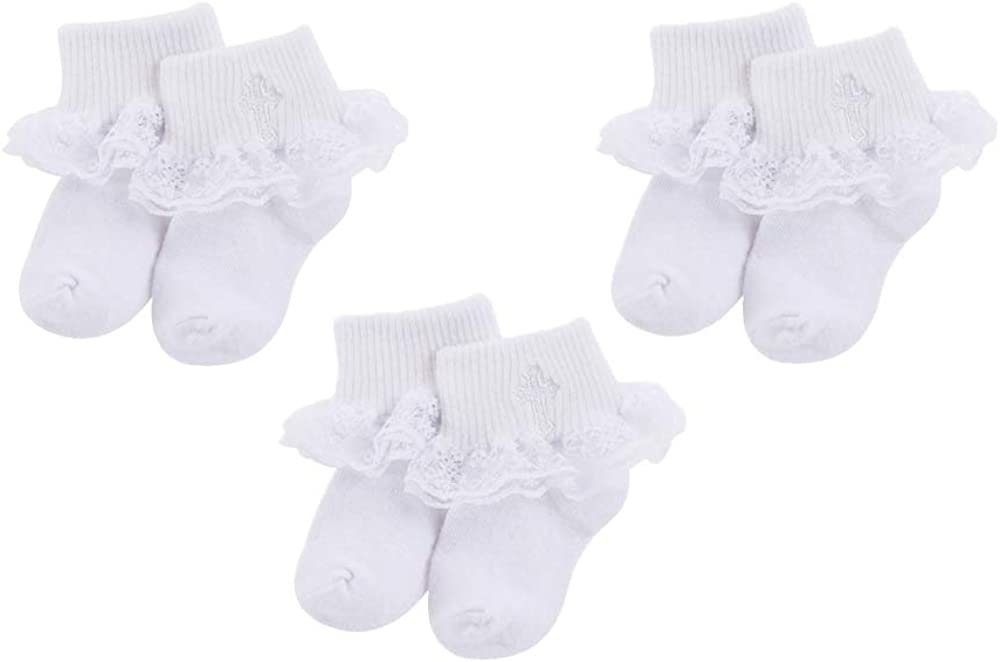 Baby Special price for a limited time Special sale item Boys Girls Turn Cuff Cotton SocksWhite Socks Bottie fo