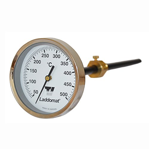 Rauchgasthermometer 50 - 500°C
