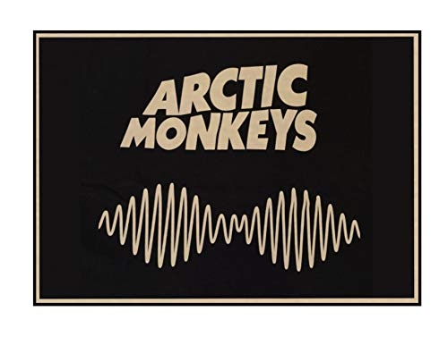 Arctic Monkeys Kraft Poster rock music Bar decoración Muebles para el hogar Drawing core Wall stickers 42 * 30CM