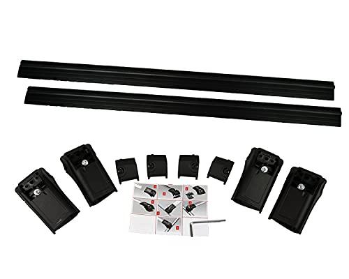 Baca portaequipajes compatible con barras de techo OEM para Seat Alhambra 7N 2010 V1DT-SW