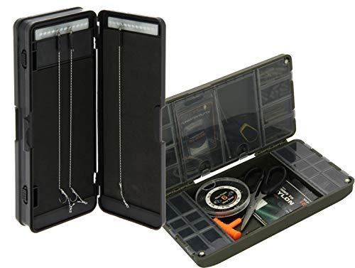 G8DS® Tackle Box für leichte Aufbewahrung ihres Zubehörs Angeln Karpfenangeln Magnetverschluss inklusive Rigbox