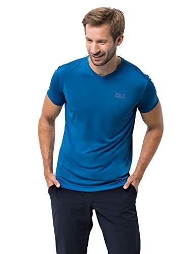 Jack Wolfskin T-Shirt Jwp pour Homme S Bleu électrique