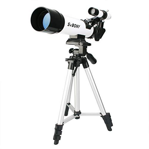 Svbony SV25 Telescopio Astronomico Niños 420/60mm Telescopio Profesio