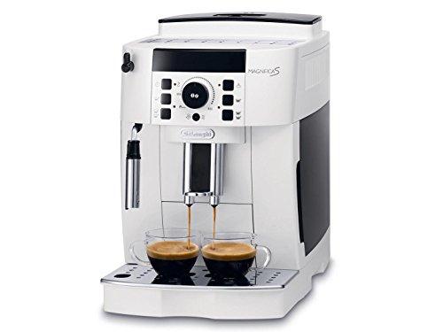 De Longhi ECAM 21110Magnifica S máquina Café Espresso automática Depósito 1,8litros Potencia 1450W Color blanco