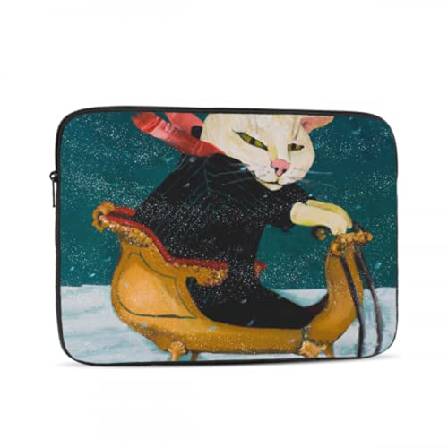 MacBook Air Skin Cute Happy Cat Colored Painting Mac Covers Multi-Color & Size Choices 10/12/13/15/17 Inch Computer Tablet Briefcase Carrying Bag