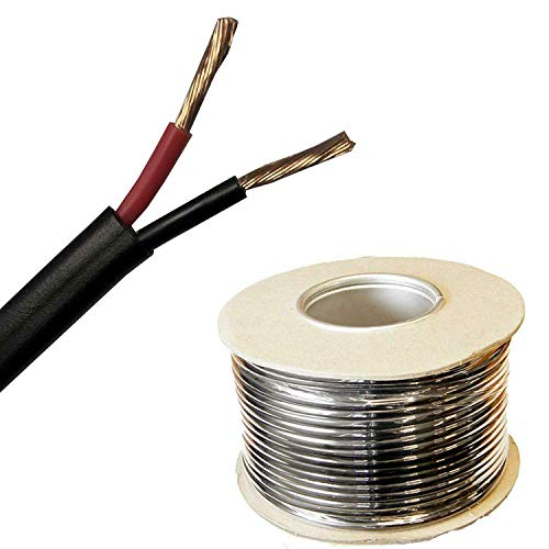 Red, 25Amps 2.0mm Wire4u 10M Thinwall Single Core Automotive Auto Car Marine Cable Wire Red Black 12V 24V 0.5mm-2.5mm 11Amp-28Amps