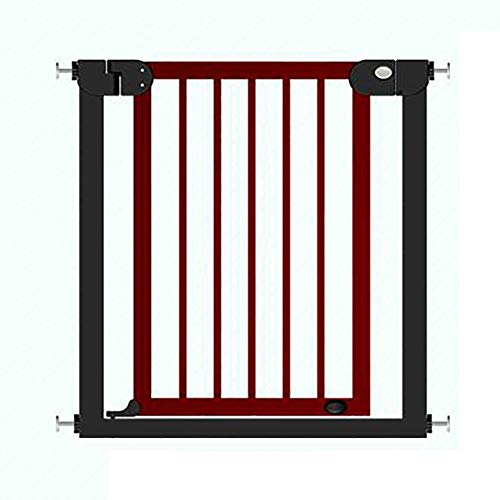 Find Bargain Huo Solid Wood Children's Safety Gate Extending Pet Isolation Fence Baby Stair Guardrai...