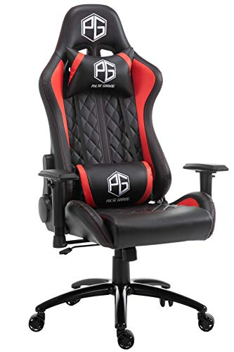 Pulse Gaming Racing Edition GT-07 Ergonomic Gaming Chair (Black+Red)