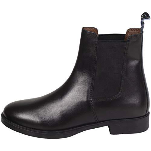 LAZURA Jodhpur Reitstiefelette Basic Plus Leder schwarz 38