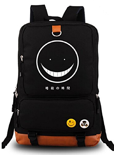 YOYOSHome Assassination Classroom Anime Cosplay Luminous Daypack Bookbag Laptop Backpack School Bag