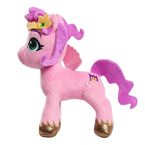 My Little Pony Small 7-inch (7') Pipp Petals Plush Horse Figure, Stuffed Animal, Pink, 3+