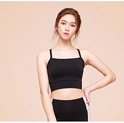 RRUI vrouwen sport panty's Nieuwe schoonheid terug lopende band beha vrouwelijke fitness yoga verzamelen beha sneldrogende vest vrouwelijke lycra wit L