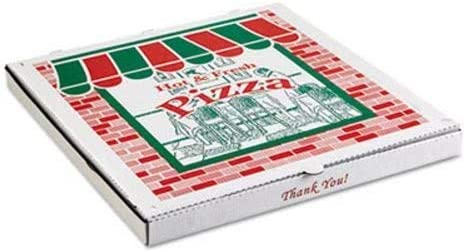 ARVCO Corrugated Pizza Boxes Kraft White Includes 8 Popular standard Max 48% OFF - 100 x