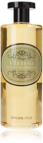 Naturally European - Luxury Shower Gel - Verbena - 500 ml / 17 fl oz