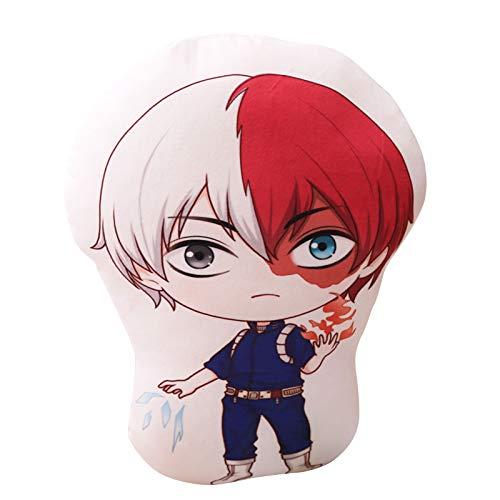 Jilijia Juguete de almohada de peluche de Izuku Todoroki Bakugou de peluche para muñecos de peluche, 40 x 50 cm
