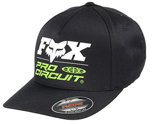 Fox Racing Men's Fox Procircuit Flexfit Hats,Large/X-Large,Black