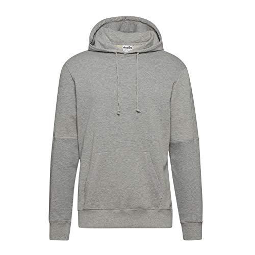 Diadora - Felpa Hoodie Sweat Core per Uomo (EU S)