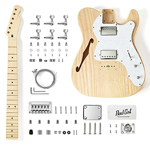 NBCI ASH Semi-Hollow Body DIY Guitar Kit