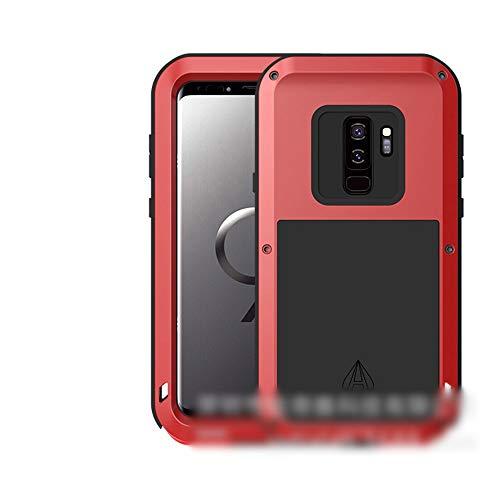 LASTARTS Funda para teléfono móvil Funda de protección contra caídas de Tres contra el Metal Nueva Cubierta Protectora Samsung S8 Plus, S8, Nota 8, S9 Plus, S9 Carcasa para teléfo