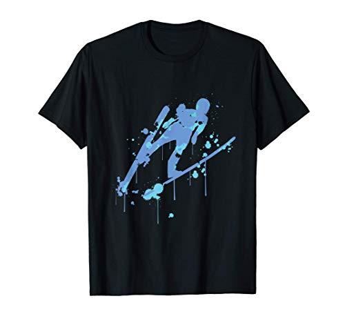 Skispringen Splash, Skispringen T-Shirt