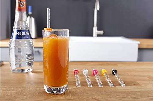 Vacu Vin 7860060 Recipe Sticks recettes à cocktail