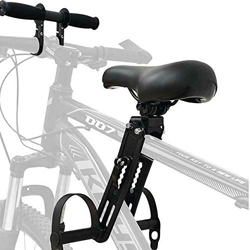 PANLY Kids MTB Bike Bicycle Seat & Handlebar Combo Mountain Bike Attachment Accessory Front Childs Seat