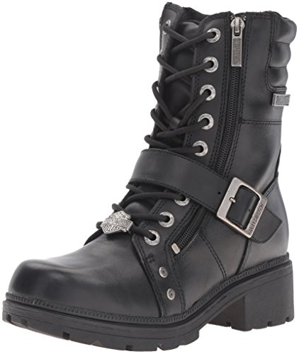 Harley-Davidson Women's Talley Ridge Motorcycle Boot, Black, 10 M US