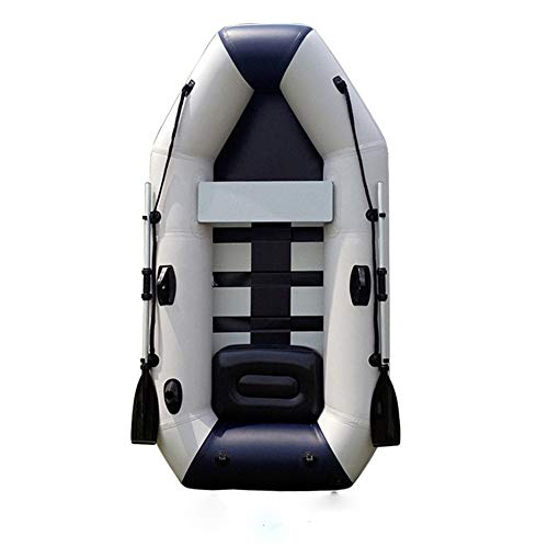 Purchase Gohbqany-SP Inflatable Boat PVC Inflatable Birch Bottom Kayak 2.85m Four Thick Padded Net L...