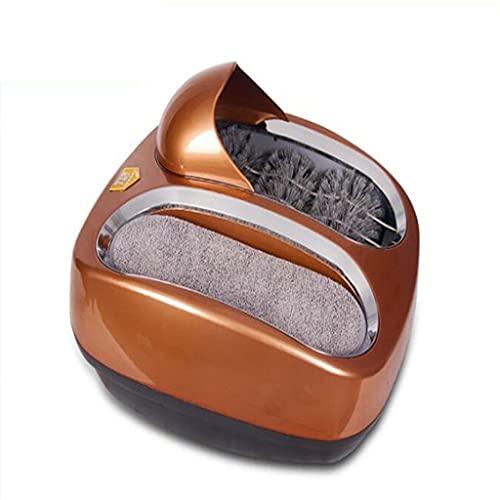LEPSJGC 220V completamente automático zapato inteligente suela limpieza máquina de pulido de zapatos limpiador de zapatos en lugar de cubierta de zapatos (Color : C, Size : One size)