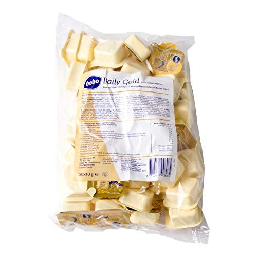 Bebo Margarine Tagesgold 6 Packungen x 50 Stück x 10 Gramm