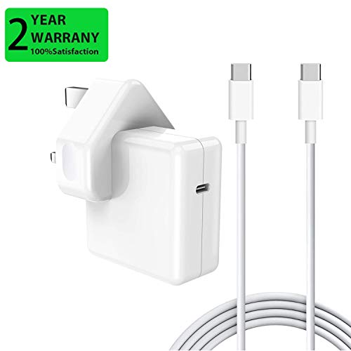 YWCKING 30W USB C Charger, PD Wall Charger Adapter Compatible with MacBook Pro/Air 12'' 13.3''&15 Inch 2016 2017 2018 2019, Work with USB C Tablets & Smartphone& iPad Pro