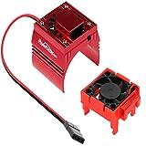 Powerhobby Cooling Fan for Traxxas Velineon VXl-3 ESC + 540/550 Heatsink Motor Fan Combo RED FITS : Traxxas Slash/Stampede 2WD / RUSTLER/Bandit / Rally VXL