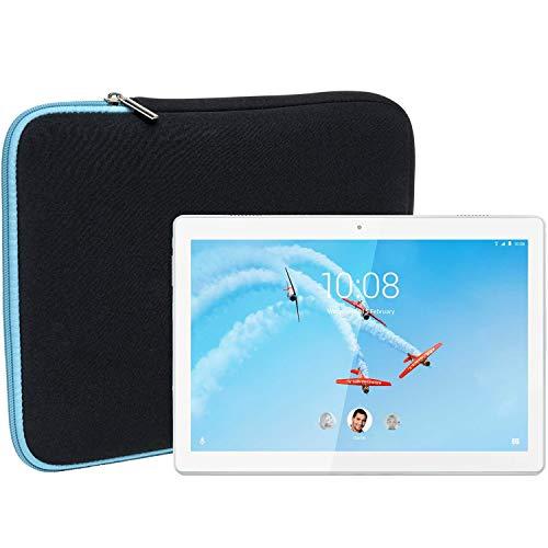 Slabo Tablet Tasche Schutzhulle fur Lenovo Tab M10 Hulle Etui Case Phablet aus Neopren TURKISSCHWARZ