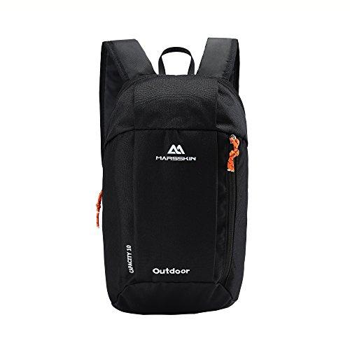 BROGEND 10L Hiking Daypack for Hiking and Travel, Kids Backpack, Casual Backpack, Mini Backpack (Dark Charcoal, 10L)