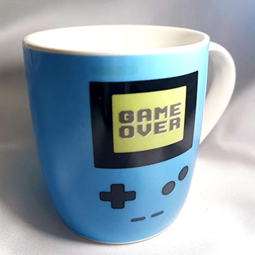Taza Mug Ceramica Gamer Con Asa 10 cm (Azul)