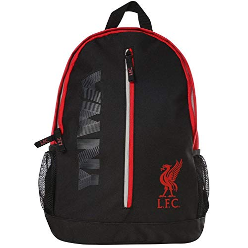 Liverpool FC Black and Red Backpack LFC Official