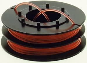 2x Faden Mähfaden 15m 1,6mm p für Black+Decker GLC1823L20 Rasentrimmer