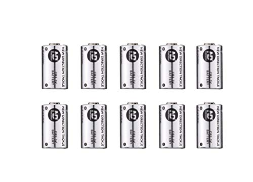 New Direction Tackle CR2*10 PCS Batteries for K9s/R9s/Th9s