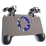Controlador de juegos móvil simple, disparadores de juegos for teléfonos celulares Teclas de objetivo sensibles, Game Trigger Joystick Gamepad Grip for teléfono inteligente de 4.7-6.5 pulgadas con ven